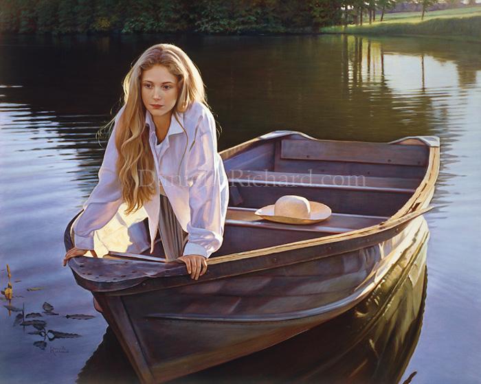 Barque en dérive